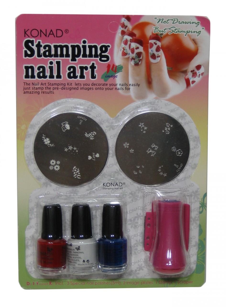 Dorable Nail Stamps Kits Illustration - Nail Art Ideas - morihati.com
